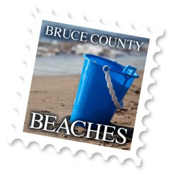 Regional Tourism Beaches Stamp
